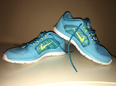 Nike Better World Turquoise Neon Lime Active Shoes Sz.7-USA, 38-eur