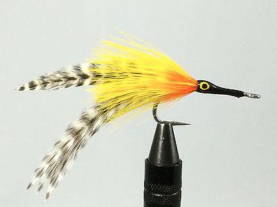 Polar Fibre Tarpon Orange /& Yellow 6 pcs size 2//0