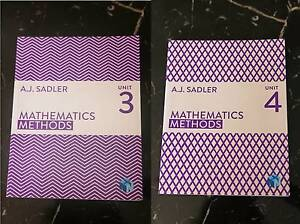 Atar Books Maths Methods Unit 3 and Unit 4 Bunbury Bunbury Area Preview