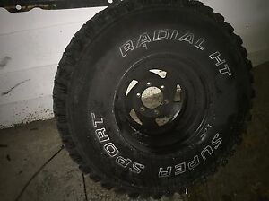 Chevy gmc rims and tires  Kitchener / Waterloo Kitchener Area image 1