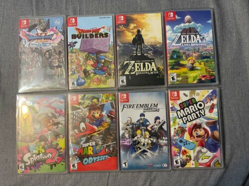 Nintendo Switch Game Replacement Boxes/Cases (NO GAME)