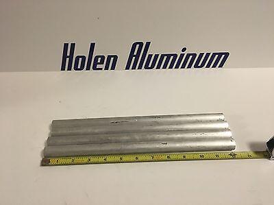 4 Pieces 1 X 12 Aluminum Round Rod Solid 6061-t6
