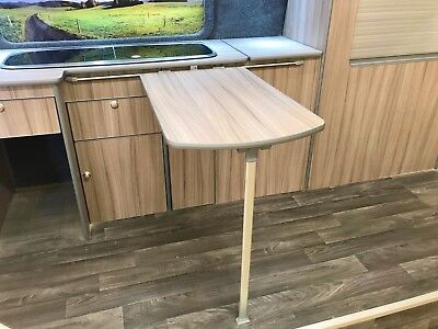 Transit Custom / Ducato / VW T4 / T5 / T6 Camper Van Table Folding Leg & Rail for sale  Shipping to Ireland