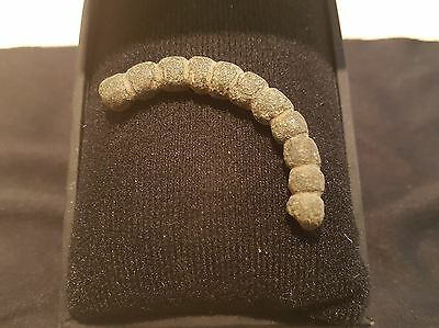 Stunning bronze Viking wrist torc part battle dam. found Fulford near York  L11n