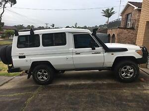 2009 Toyota landcruiser Troopcarrier Workmate 4.5L V8 Diesel Wollongong Region Preview