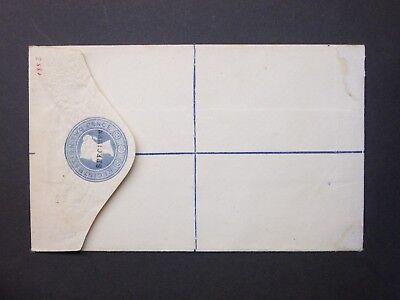 GB Stationery QV 2d blue 'SPECIMEN' overprint Registered Envelope size F RP13