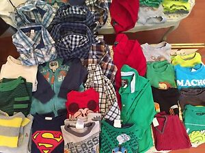 Toddler Boys clothing lot (tops)