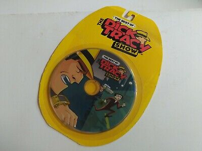 THE BEST OF THE DICK TRACY SHOW Kids cartoons DVD  New/Sealed   ()