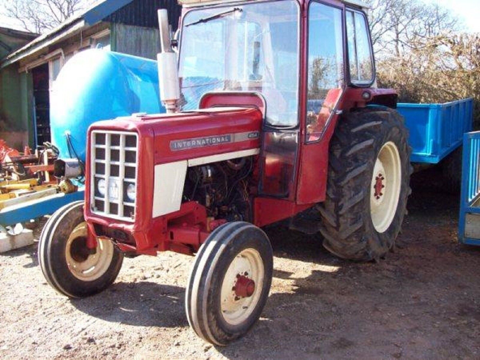 1 of 5FREE Shipping International Harvester Workshop Manual - 454 - 474 -  574 - & 674 Tractor 2 of 5 International ...