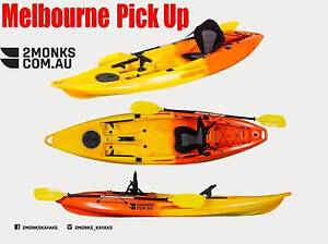 3.1M Fishing Kayak Canoe 1.5 Seater 1 Adult&1 Kid Double Tandem Wantirna South Knox Area Preview