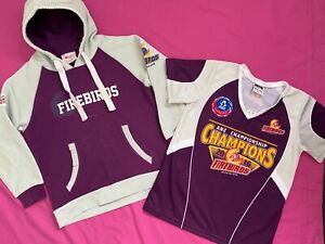 CHILDS FIREBIRDS HOODIE AND SPORT SHIRT.   Size 12yrs