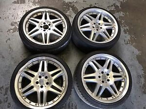 Brabus Monoblock VI Wheels 5x114.3 Rims Genuine VIP  20