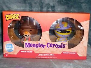 Funko-Dorbz-Fruit-Brute-amp-Yummy-Mummy-2-Pack-Monster-Cereals-LE-2000