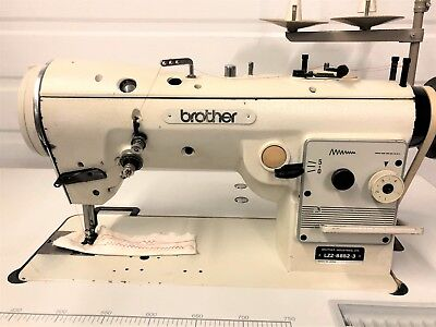 Brother Lz2-b852-3 High Speed Zig Zag Wreverse 110v Industrial Sewing Machine