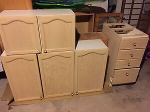 Kitchen cabinets, doors and drawers