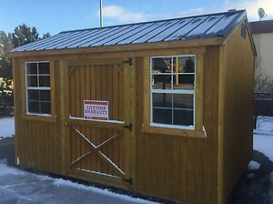 SHEDS - 8' X 12' Utility Shed