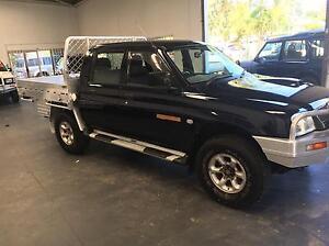 2005 Mitsubishi triton 4wd glx manual turbo diesel/gas Redcliffe Redcliffe Area Preview