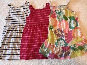 Toddler girl tank dresses. Size 1 1/2 - 2 yrs