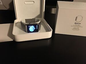 Apple watch Série 1  42mm steinless steel