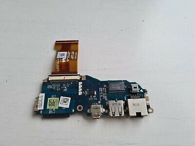 dell latitude e4200 laptop usb port board / carte usb cable original