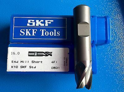 Skf Tools 1 X Vhm Cutter 16 X 76 K10 Z4