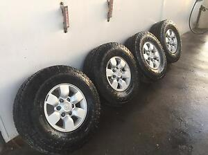 Hilux rims and tyres Rockingham Rockingham Area Preview