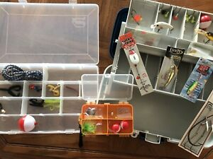 3 Tackle Boxes And Tackle For Sale