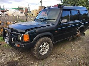 WRECKING Land Rover discovery td5 Longford Northern Midlands Preview