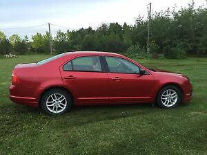 Red Ford Fusion For Sale Edmonton Edmonton Area image 2