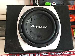 "Subwoofer - Pioneer 12"" & Evolution Amplifier Stuart Park Darwin City Preview"