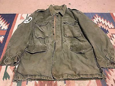 Korean War US Army M-51 Field Coat Jacket  Small Long  M1951 1951