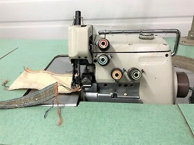 Brother Ma4-b551 Five Thread Safety Stitch New 110 V Industrial Sewing Machine