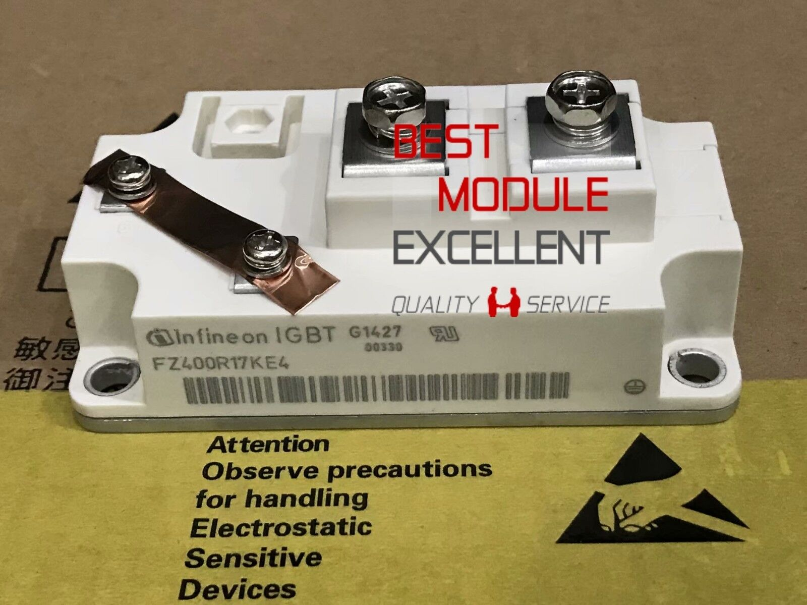 1PCS INFINEON FZ400R17KE4 power supply module NEW 100/% Quality Assurance