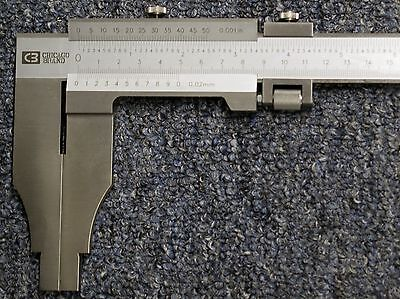 24 Vernier Caliper Reads To .001.02mm 1 Year Warranty Chicago Brand 50016