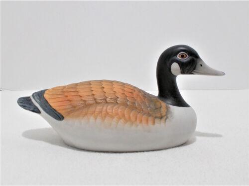 Porcelain Ceramic Canadian Goose Figurine
