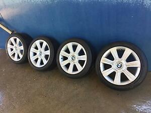 4 x 17 inch Genuine BMW wheels with Tyres Mount Annan Camden Area Preview