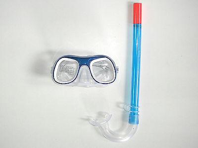 Kinder Schnorchelset blau Taucherbrille und Schnorchel