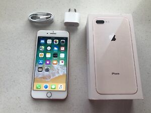 Iphone 8 Plus 64GB ROSE GOLD In Perfect Condition