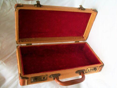 Vintage 1940s Harmonica Case