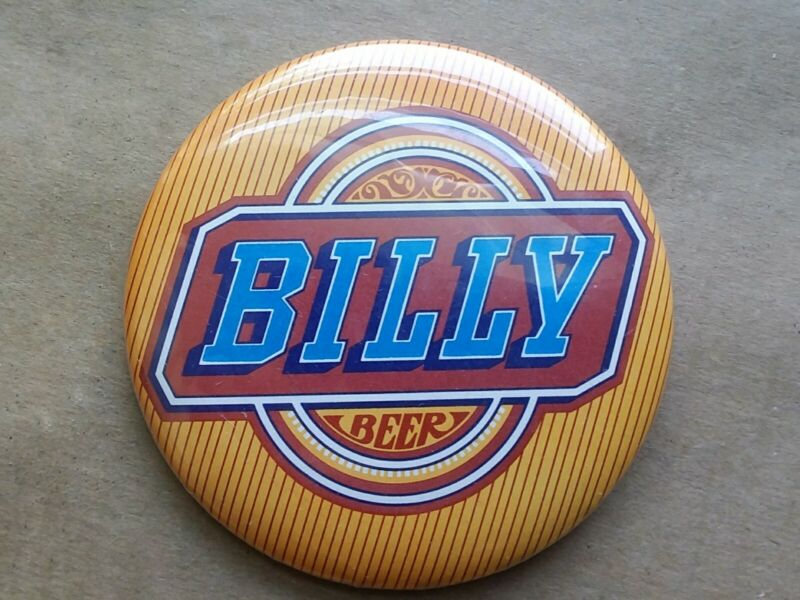 Rare Vintage 1977 Billy Beer Lapel Pin Button