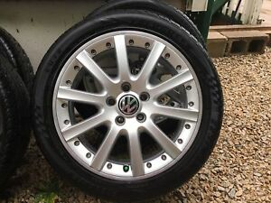 VW OEM Alloy Wolfsburg Wheels