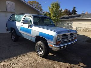 1989 DODGE RAMCHARGER 4X4 GREAT SHAPE Edmonton Edmonton Area image 3