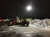 Snow Hauling and Loader Services