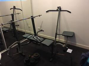 Weights Bench Barbell  Dumbbell Lat Stanmore Marrickville Area Preview