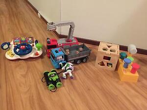 Toy bundle: vtech steering/ELC truck/ wooden shape sorter East Perth Perth City Area Preview