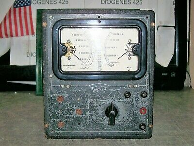 Triplett Volt Ohm Milliammeter Model 1200 C