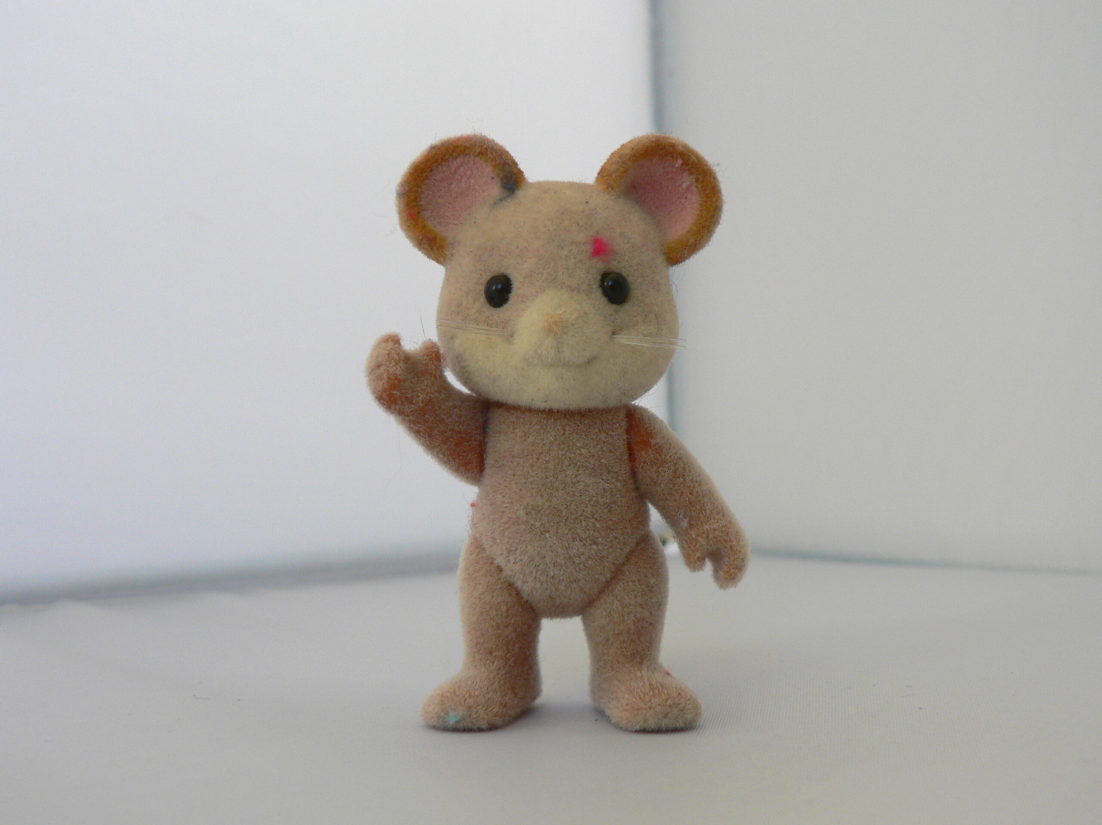 Epoch Calico Critters/Sylvanian Families Rare Brown Norwood Mouse Posable Figure - $9.99