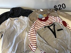 Baby boy long sleeve shirts size 18-24mths