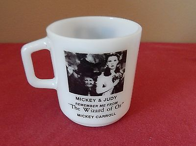 "Remember Me From ""The Wizard of OZ"" Coffee Cup / Mug    Mickey & Judy"