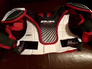 Bauer Youth Shoulder Pads and Hockey Pants